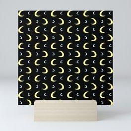 Crescent Moon 12 Mini Art Print