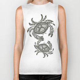 Dancing Crabs Biker Tank