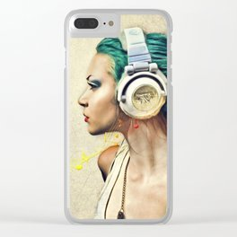 Music Clear iPhone Case