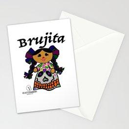 Brujita Calacas Stationery Cards