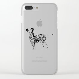 Always Spotted Clear iPhone Case