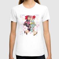 madoka magica T-shirts featuring Madoka and Homura in Yukata dress by Neo Crystal Tokyo