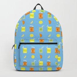 Juice Pattern Backpack