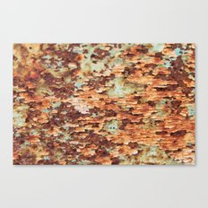 Colorful Grunge Abstract No.1 Canvas Print