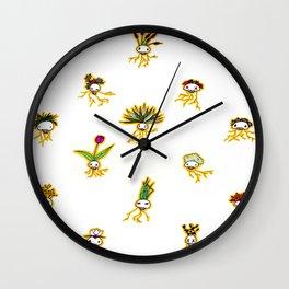 Dead Vegetation  Wall Clock