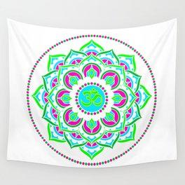 Spring Mandala | Flower Mandhala Wall Tapestry