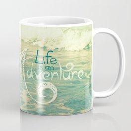 California Beach Seagull Coffee Mug