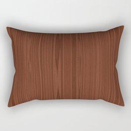 Walnut Wood Texture Rectangular Pillow