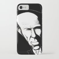 tom waits iPhone & iPod Cases featuring Tom Waits by Mr Shins