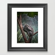 A Sense of Sadness Framed Art Print