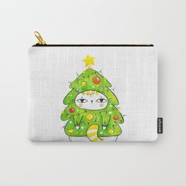 Christmastree kitty Carry-All Pouch