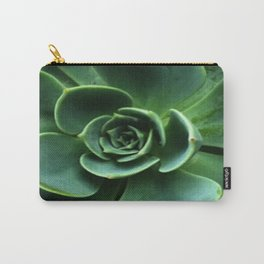 GRAY-GREEN CACTUS SUCCULENT ART Carry-All Pouch