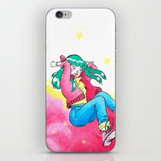 Pink Girl iPhone & iPod Skin