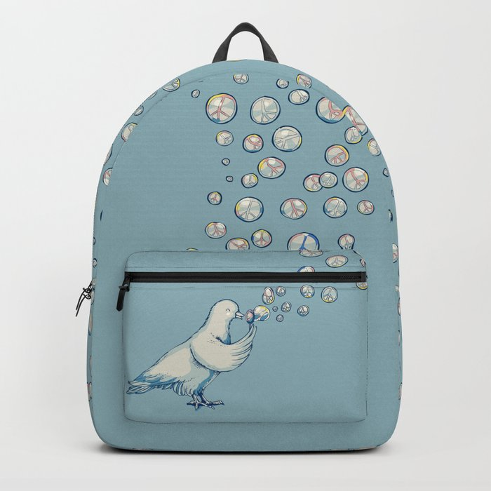 Bubbles Peace Backpack