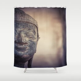 Buddha in Haw Phra Kaew, Laos Shower Curtain