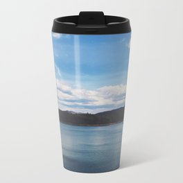 Looking Out To Fontana Dam • Appalachian Trail Metal Travel Mug