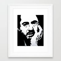 robert downey jr Framed Art Prints featuring Robert Downey Jr by Olivia Iman