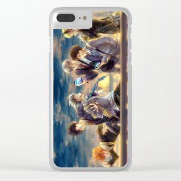 Haikyuu!! - 3rd Gym Squad Clear iPhone Case