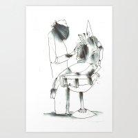 dentist Art Prints featuring Dentist by Arkories