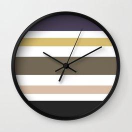 Stripes — Nordic Tales Wall Clock