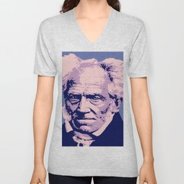 Arthur Schopenhauer Unisex V-Neck