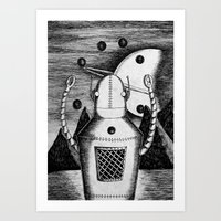 The Juggler Art Print