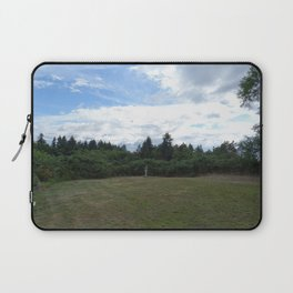 Vashon Garden Scene Laptop Sleeve