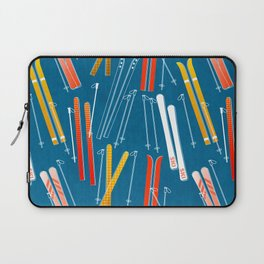 Colorful Ski Pattern Laptop Sleeve