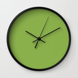 PANTONE Greenery - 2017 Color of the Year Wall Clock