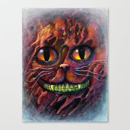 Cheshire cat Canvas Print