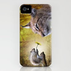 Canadian Lnx and Squirrel iPhone (4, 4s) Slim Case