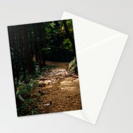 Trail Lights Stationery Cards