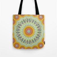 sun Tote Bags featuring Sun by David Zydd