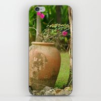 rustic iPhone & iPod Skins featuring Rustic by snowflake notions
