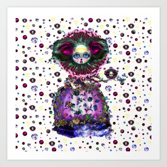 Confetti and Fanfare  Art Print