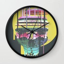 Skull Splitting Wall Clock