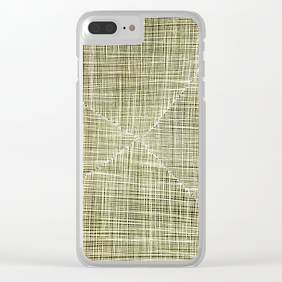 Ink Weaves: Citrine Clear iPhone Case