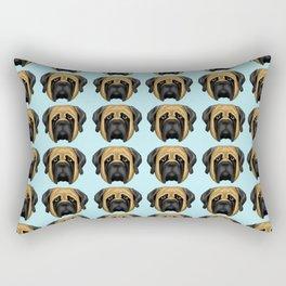 Apricot Mastiff Rectangular Pillow