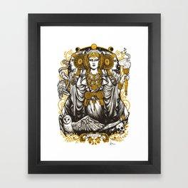 IBERIAN HECATE Framed Art Print