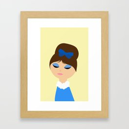 One of your french girls Framed Art Print