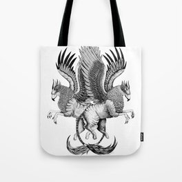 Griffin Sisters not Twins Series Tote Bag