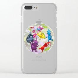 Pikmin World Fanart Clear iPhone Case