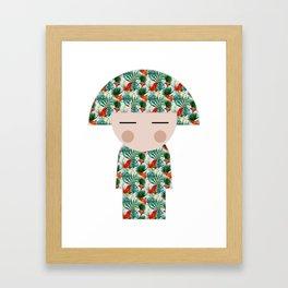 japan animation (hawaii) Framed Art Print