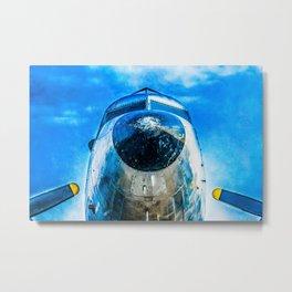 Douglas DC-3 Aircraft Metal Print