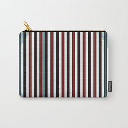 Abstract color design print Carry-All Pouch