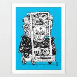 Cruzin Art Print