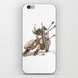Écureuil Barbare iPhone Skin