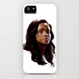 The Girl iPhone Case