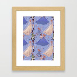 Dilly Dilly, You Shall Be Queen Framed Art Print