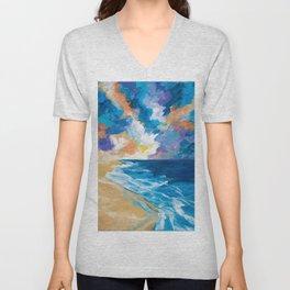 Stormy Sea Unisex V-Neck
